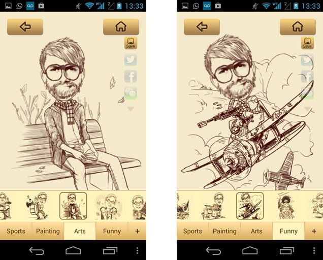 Blog do carlos costa moment cam como criar caricaturas for App para planos