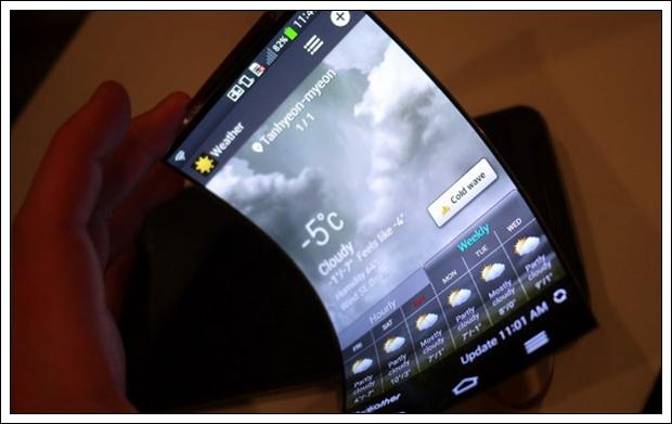 LG: smartphones flexíveis devem dominar 40% do mercado em 2018
