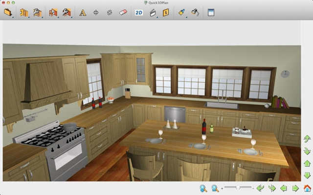 Quick3dplan para mac download for Fusion kitchen plano