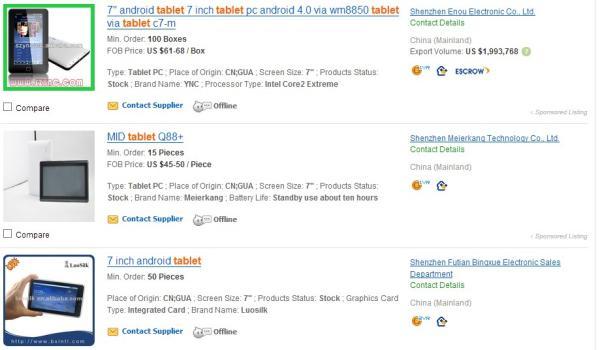 Tablets chineses de 40 dólares são melhores que o da Tekpix de R$ 3,5 mil