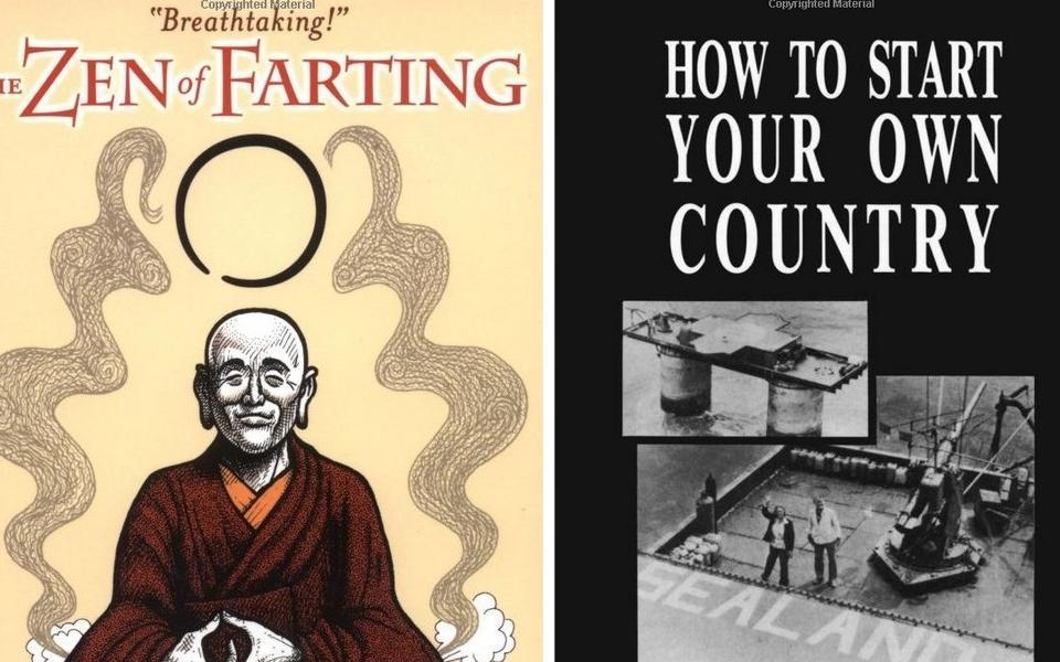 7 livros bizarros que você não vai acreditar que existem