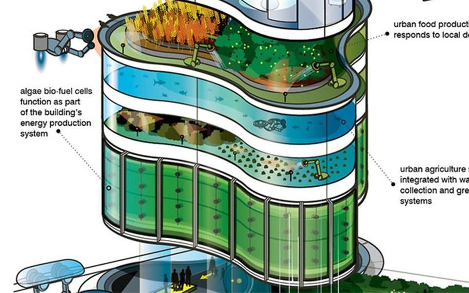 Como serão os edifícios no ano de 2050?