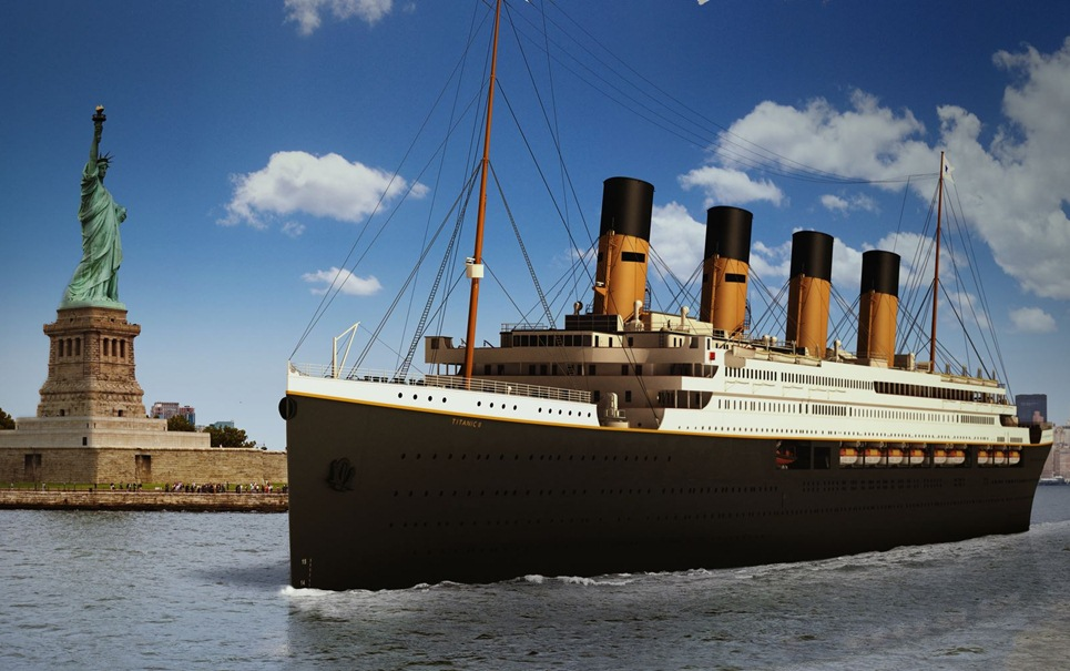 Titanic II tem primeira viagem marcada para 2016