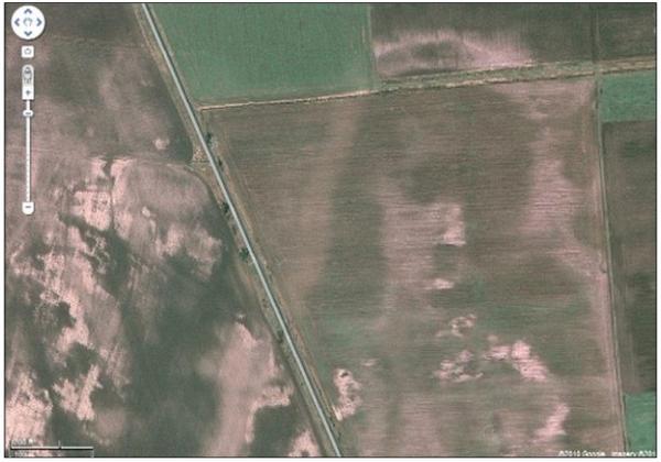 rosto de Jesus apareceu no campos na Hungria