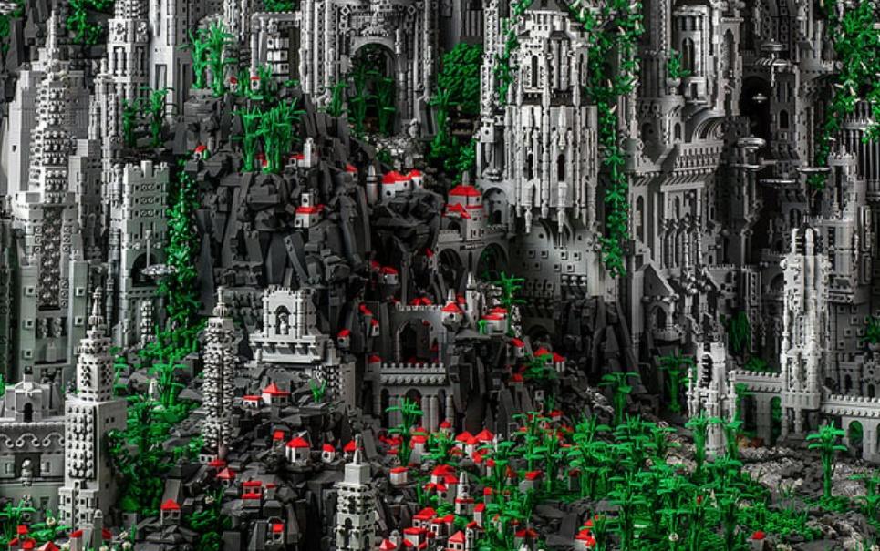 Conheça a incrível cidade construída com 200 mil peças de LEGO
