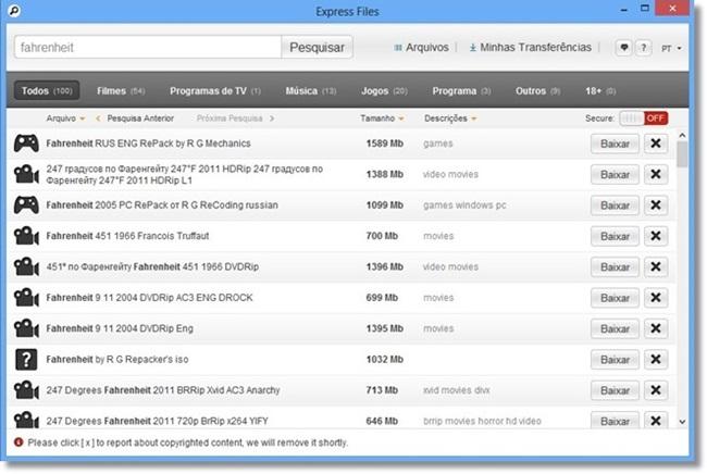 express files  for windows 7 32 bit