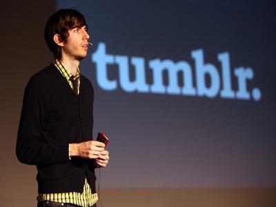 Conheça um pouco mais sobre o criador do Tumblr