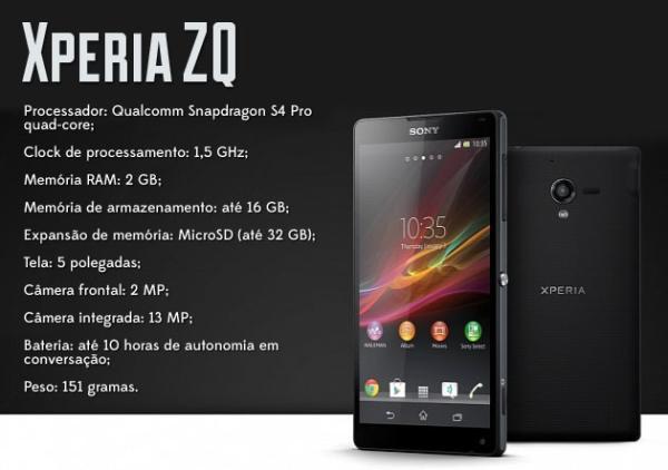 Análise: smartphone Sony Xperia ZQ [vídeo]