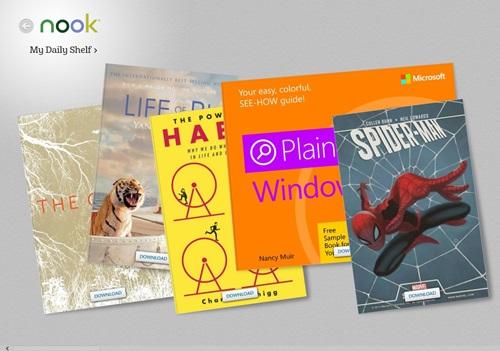 O catálogo abrange vários gêneros da literatura.