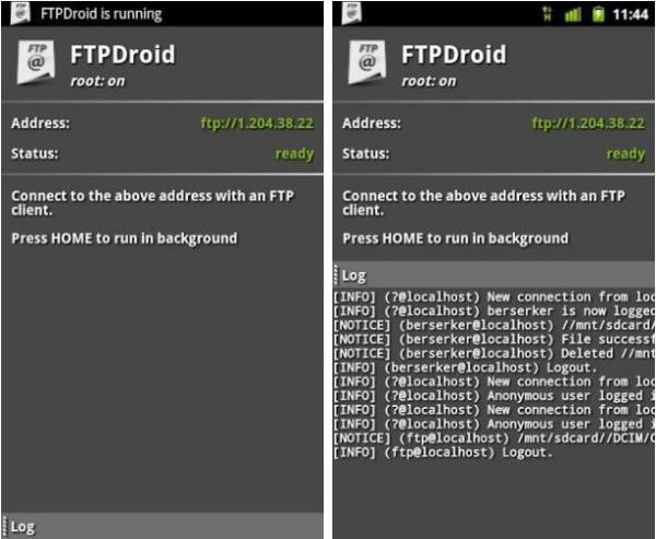 O FTPDroid