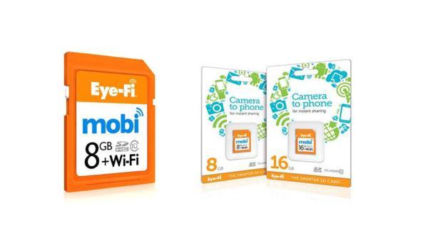 Cartões Eye-Fi Mobi enviam fotos para celular sem conectar-se à internet