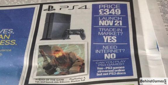 PS4 será lançado no dia 21 de novembro?