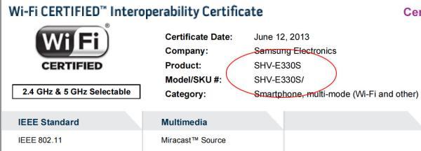 Versão do Galaxy S4 com Snapdragon 800 aparece recebendo certificado DLNA