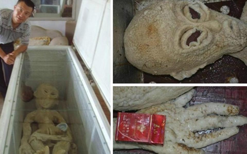Chinês afirma ter encontrado e eletrocutado alienígena
