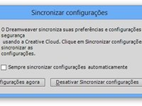 Sincronizar configura��es