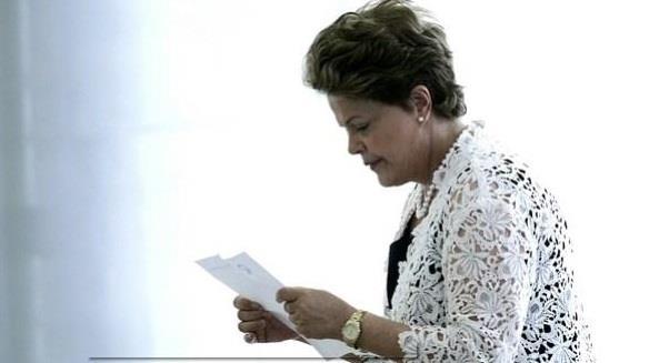 Dilma diz que não concorda com