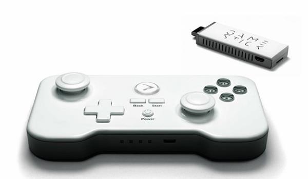GameStick - do tamanho de um pendrive