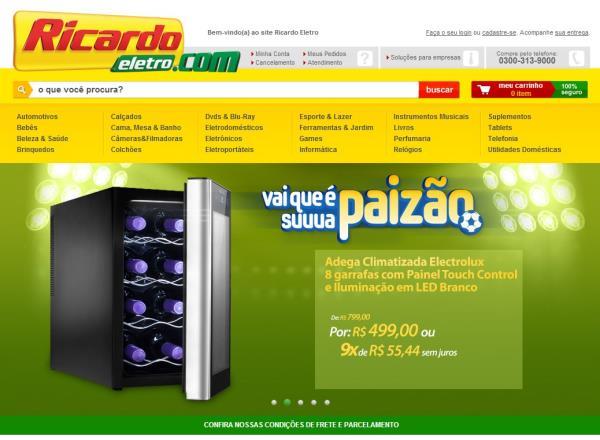 Justiça interrompe vendas da Ricardo Eletro pela internet