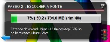Efetuando o download