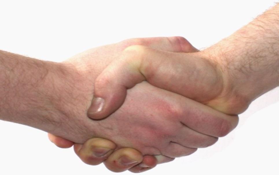 Os 5 mandamentos de um bom aperto de mãos