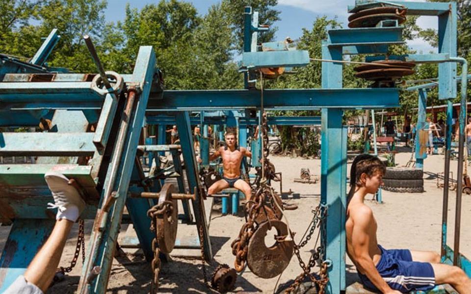 Vai encarar um treino nesta academia hardcore da Ucrânia?