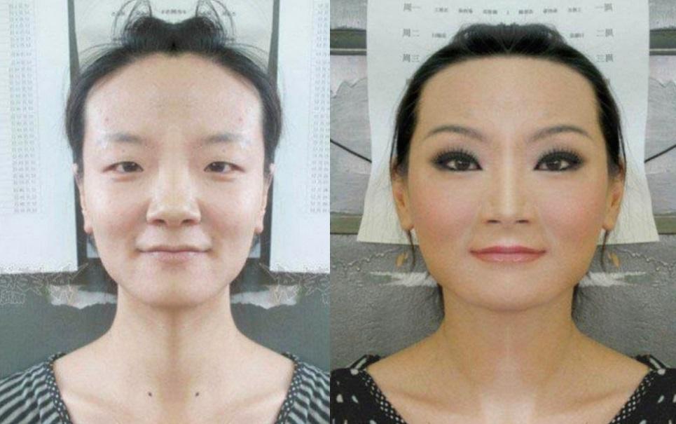 Confira algumas transformações incríveis com maquiagem