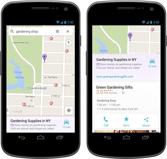 Google começa a mostrar anúncios no Maps para Android e iOS
