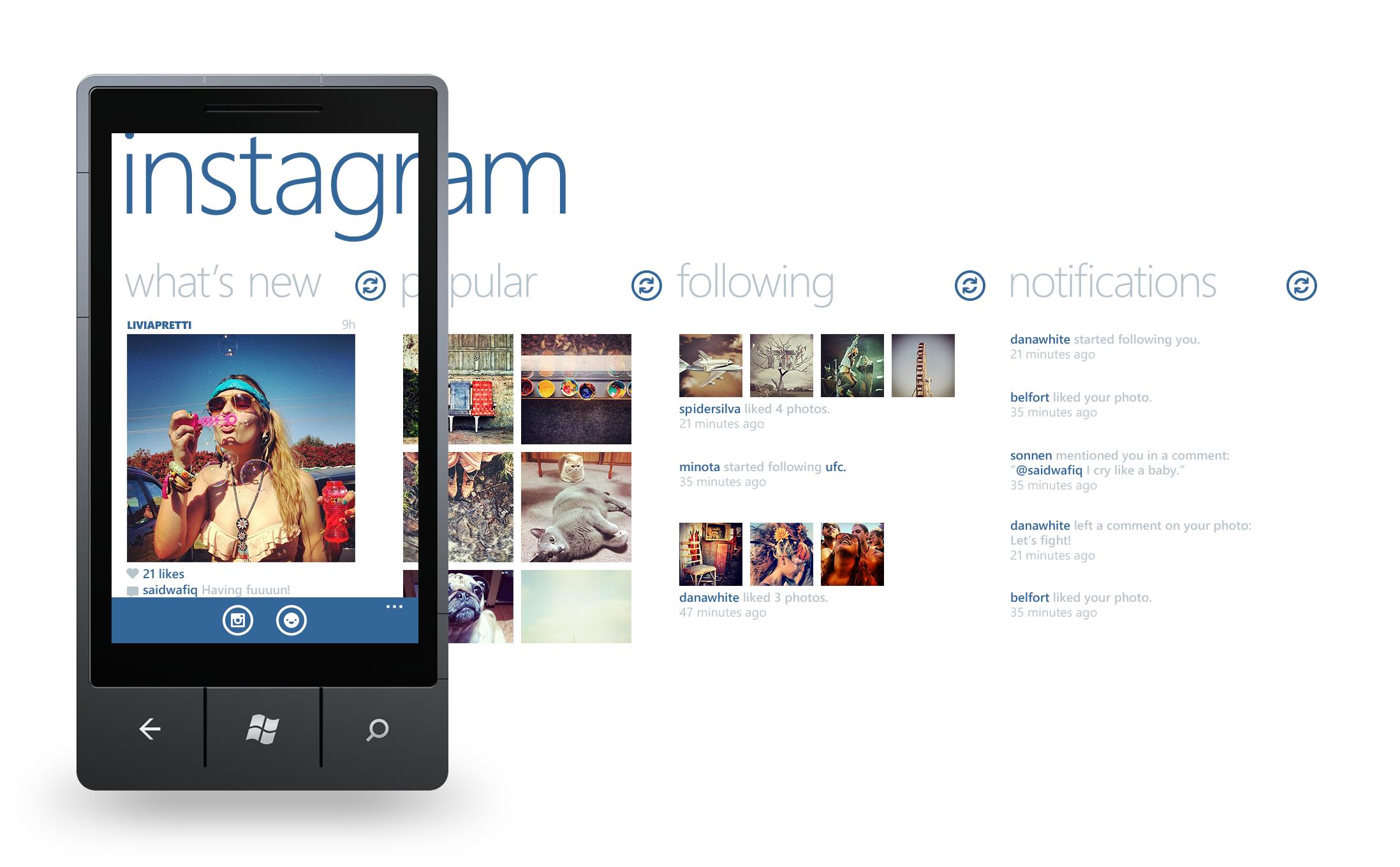 Executivo da Nokia afirma que Instagram está chegando ao