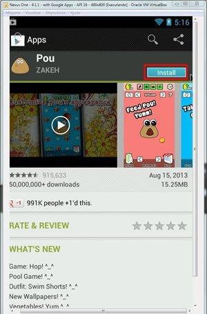 Como instalar e jogar o Pou, sucesso do Android, no computador