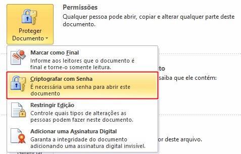 Configurando as permissões