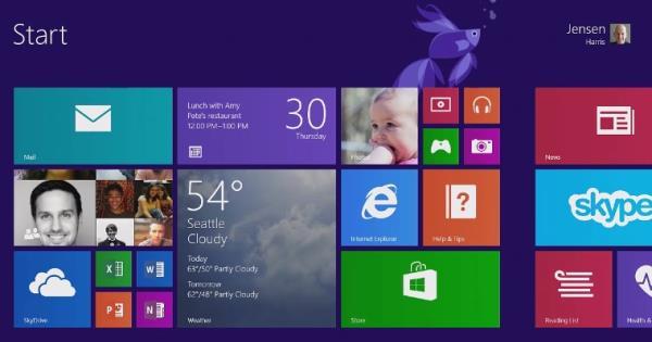 Windows 8.1 já está pronto e será lançado a partir de 17 de outubro