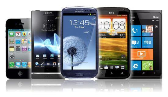 Smartphones vendem mais que celulares comuns e Android lidera com folga