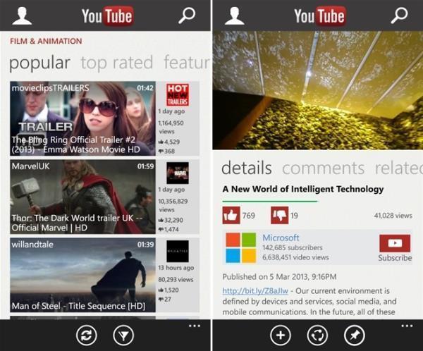 Google volta a bloquear app do YouTube para Windows Phone