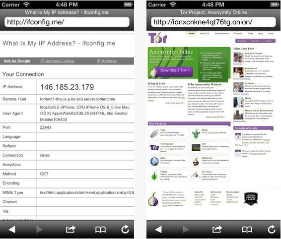Navegador para acessar a Deep Web no iOS custa menos R$ 3