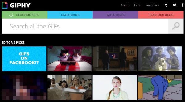 Facebook: como publicar GIFs animados