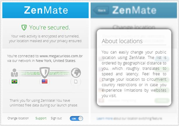 Zenmate download zenmate imagem 1 do software stopboris Images