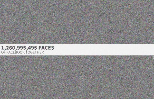 Site reúne os avatares de todos os usuários do Facebook em uma só página