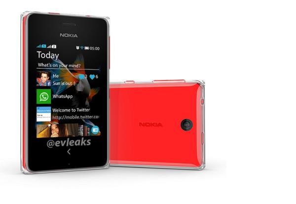 Surge na internet a primeira imagem do Asha 500, novo celular da Nokia
