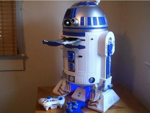 R2-D2 com PS3 e Xbox 360 embutidos pode ser seu!