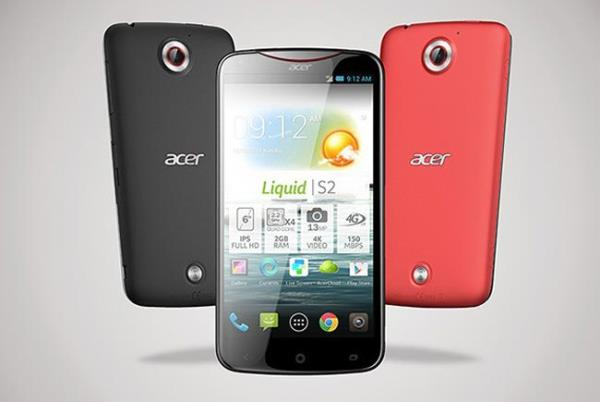 Acer lança primeiro smartphone com câmera 4K