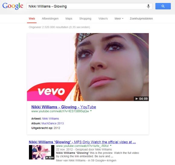 Vídeos de música podem ganhar mais destaque em buscas do Google