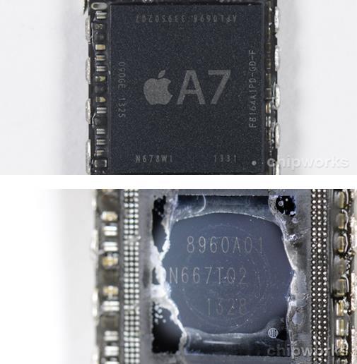 Processador Apple A7 presente no iPhone 5S é produzido pela Samsung