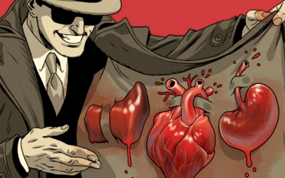 corpo humano, rim, mercado negro, órgãos