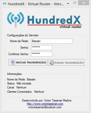HUNDREDX - VIRTUAL ROUTER 1.0