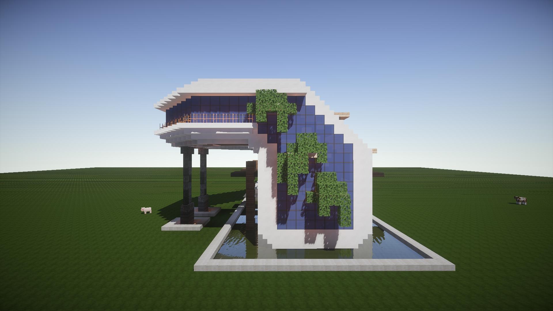 Conhe a a mans o do minecraft mais perfeita j feita at o for Casa moderna minecraft xbox 360