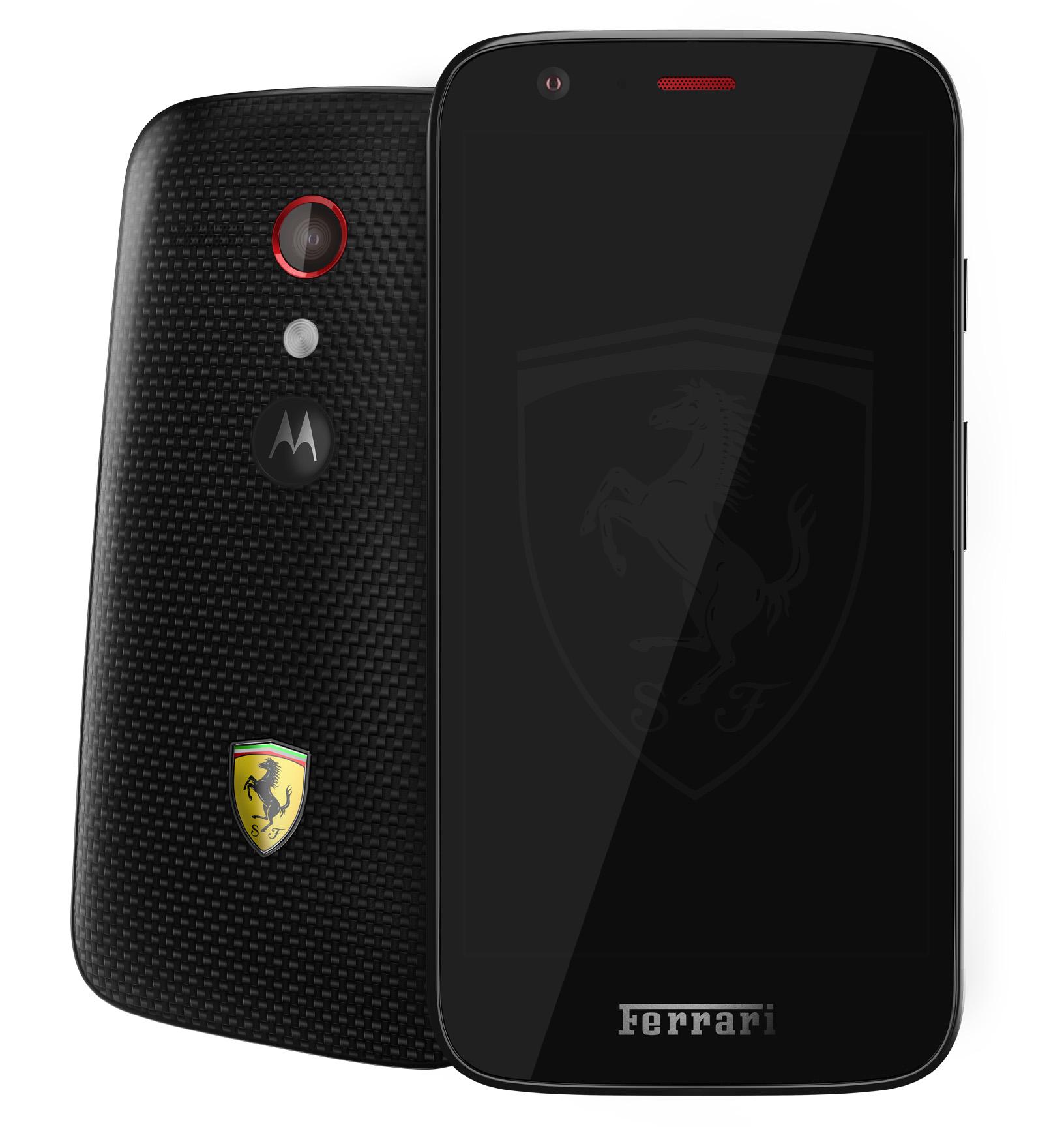 Moto G ganha edição especial da Ferrari com proteção traseira de Kevlar