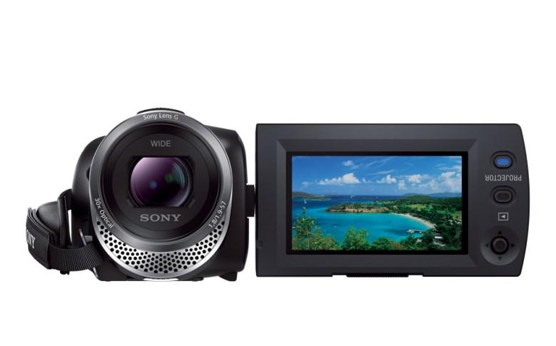 Sony anuncia lançamento de filmadora Full HD com projetor integrado