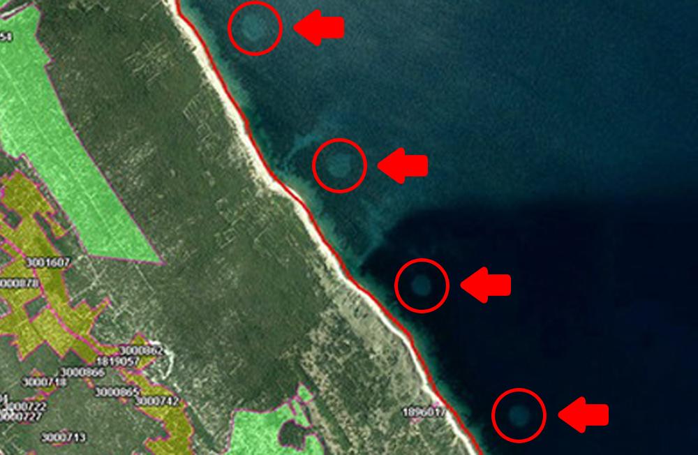 Círculos estranhos aparecem no Mar Adriático e intrigam os especialistas