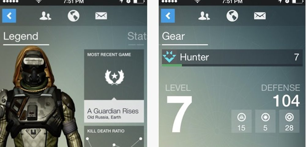 This is What 'Destiny's Companion App Looks Like – Game Rant