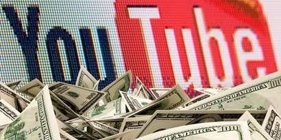 Os 40 canais mais rent�veis do YouTube